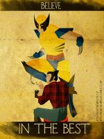 Believe - Wolverine by KerrithJohnson