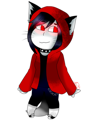 Vampire Kitty (REQUEST) by Berrykris246