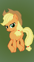Applejack (Minecraft Pixel Art) by AjgorB25