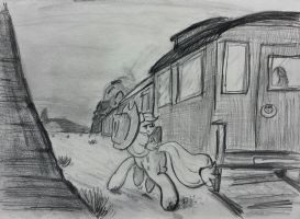 Train Robbery by shoeunit