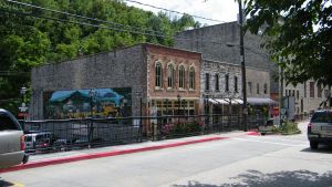 Eureka Springs downtown 1 by wolf74145