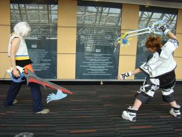 Sorah vs riku by aoifasd