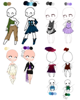 Outfit Adopt Sheet 7 (CLOSED) by Elypsi
