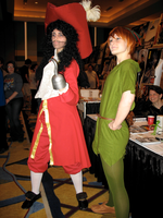 Momo2012 Hook, Peter Pan by StrayFlame
