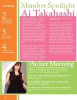 Morning Musume Newsletter 2 by KawaiiAyu