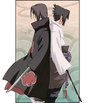 Uchiha Siblings by Roggles