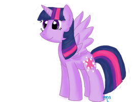 Princess Twilight Sparkle by pyrmappege