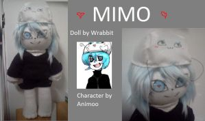 Week 3: MIMO! Doll by theamazingwrabbit