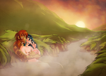 Faint Stars - Hot Spring Lovers by freak-cereals