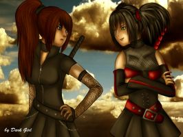 Two Girls by Angel-Ray