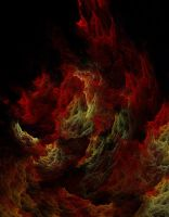 Burning in Hell by amerianna