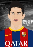 Marc Bartra Vector by bluezest1997