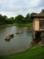 Teahouse By The Lake by NamekAngelIvy