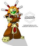 Medabots collab - Warbandit by WarBandit