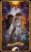 6 The Lovers - Tarot Card by Cupcakes-lover