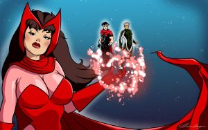 Scarlet Witch wallpaper by TheCosbinator