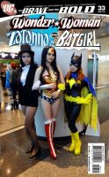Wonder woman Zatanna Batgirl by Asuka10