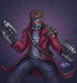 Starlord by Puekkers