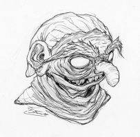 Grinning Troll by Inaaca