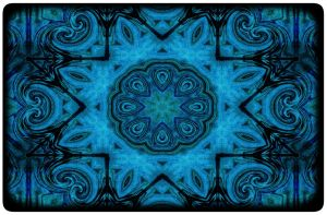 Blue Mandala by Digipho333-Studio