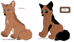 Shepard Pups - just 10 points each - CLOSED by cassidymom