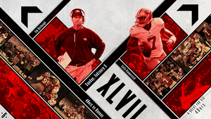49ers Superbowl Wallpaper by BrittainDesigns