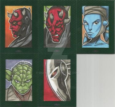 Star Wars Chrome 2 Artist Proofs by GIG-Arts