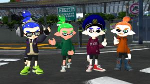 The Cool Squids! by RasmusHolmgren