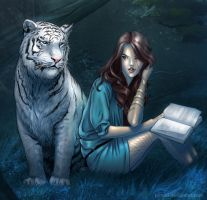 Tiger and Kelsey by Juhani