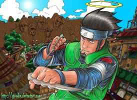 Asuma porro attack by Giosuke