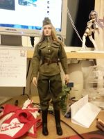 Soviet Army Girl 1 by lordsjaak