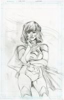 Super Girl Pencil by SooDLee