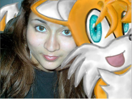 me and Tails by ChoTiger