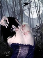 Black moon by vampirekingdom