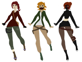 The Fangirl's Possible New Designs? by bellamegalodonna