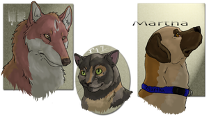 TWiTC: Headshots2 by Pred-Adopts