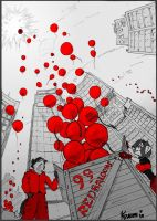 99 Red Ballons by TaurusJ