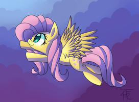 Fluttershy by wildberry-poptart