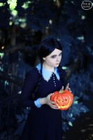 The Addams family - Wednesday Addams by DarkInquisitor666