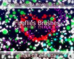 Fireflies brushes by Ailedda by Ailedda