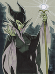 Maleficent by Hodges-Art