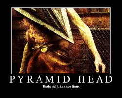 Pyramid Head motivation by red-angel07