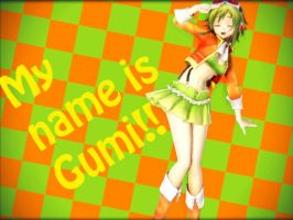 Her Name Is Gumi!! by Sleepinginwonderland