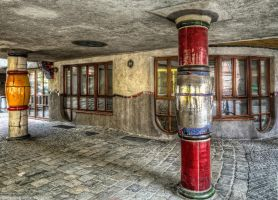 Hundertwasser House - Vienna 1 by pingallery