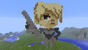 Sergeant Calhoun in Minecraft by superslinger2007