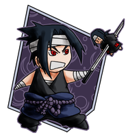 Chibi Collection - Sasuke by TakuSalvemini