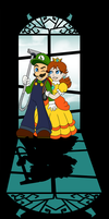 Luigi to the rescue by AilwynRaydom
