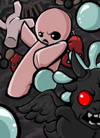 .::Binding of Isaac::. by 00ShadowDragon00