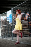 Asuka Yellow Sundress Cosplay - Stay Away by WorstWaifu