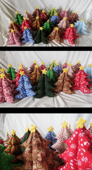 Christmas Tree Forest by Lepus-Marj